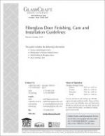 16-2019 FiberglassDoorFinishingCareInstallationGuide-2019_web